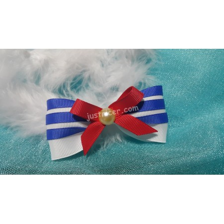Sailor 3 stripe Hairclip