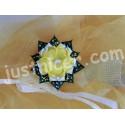 YellowFlower1 hair clip/bros